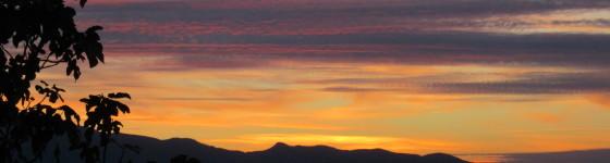 Image 2. Sunset in Loubar.
