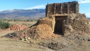 Traditional Roof tile kiln